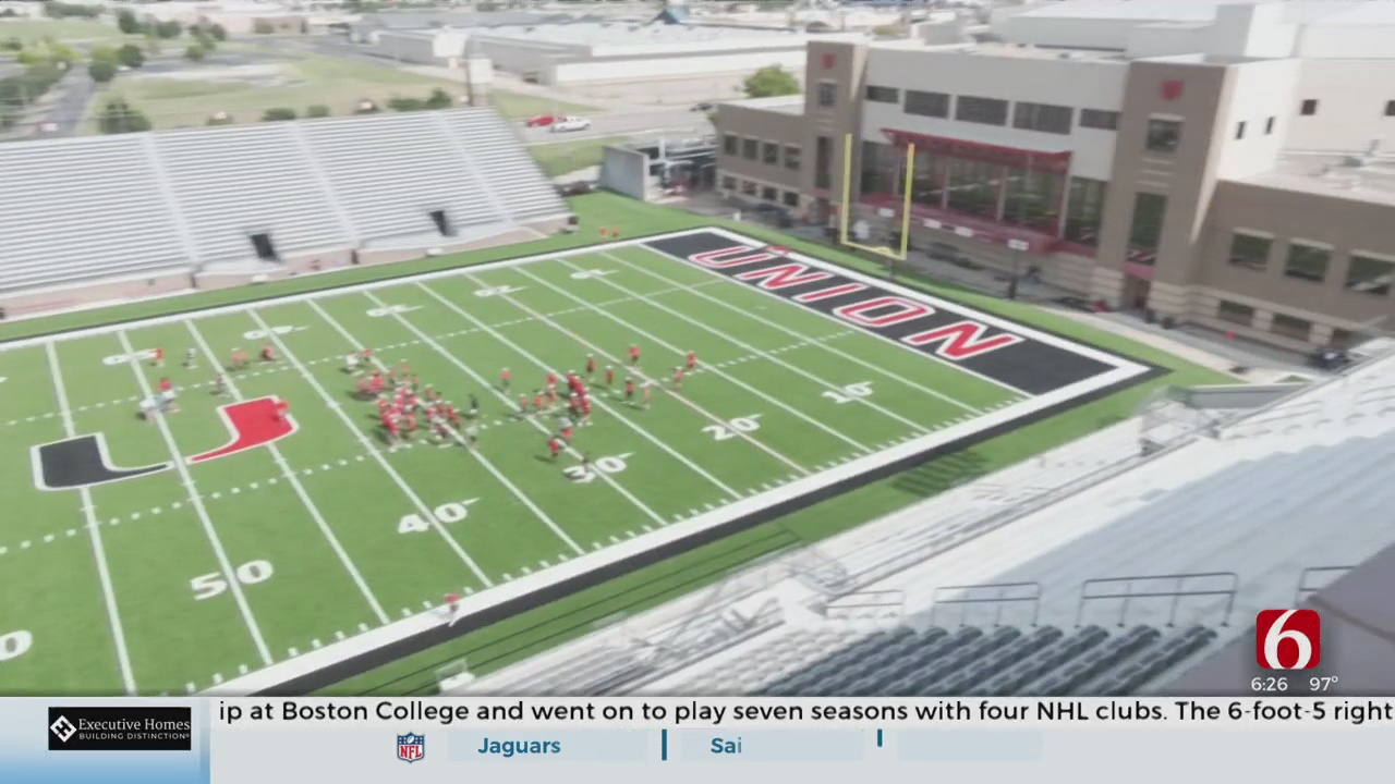 Union High School AD Gives Tour Of Newly Renovated Stadium