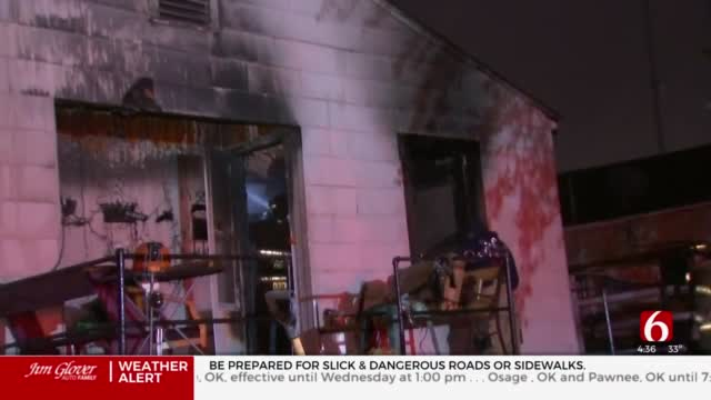Firefighters Called To The Scene Of  Tulsa Duplex Fire