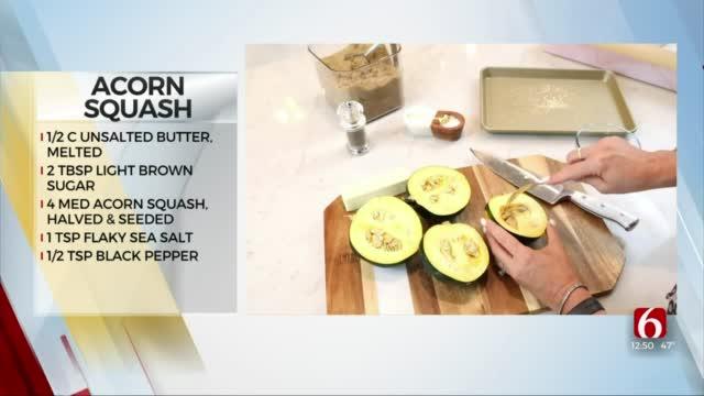 Brown Sugar Roasted Acorn Squash