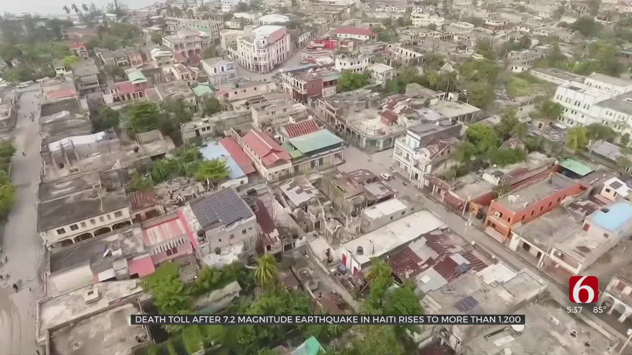 Deaeth Toll From Haiti Raises to More Than 700