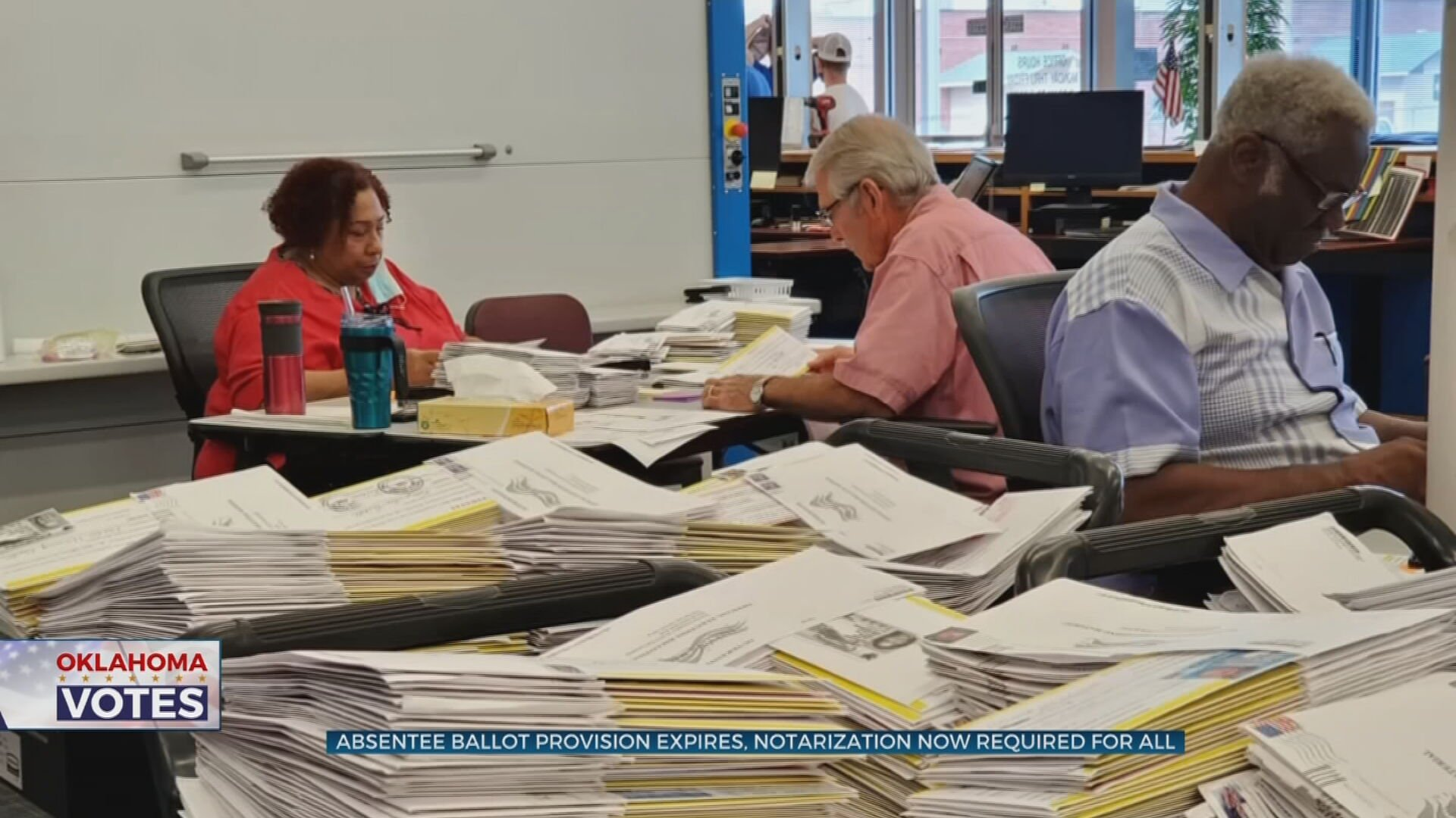Election Provision Expires, Notarization Now Required For All Absentee Ballots
