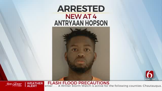 Man Arrested After Tulsa Police Cruiser Burglarized, Guns Stolen