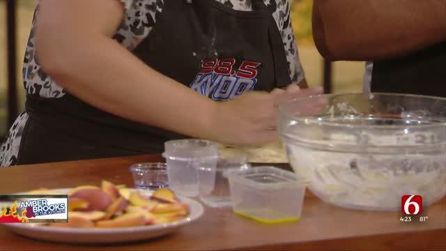 Amber and Brooks: Peach Tart Recipe