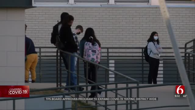 TPS Board Approves Program To Expand COVID-19 Testing Districtwide