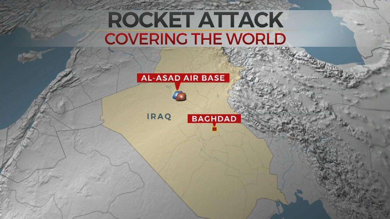 Pentagon: U.S. Contractor Dies In Rocket Attack At Iraq Base