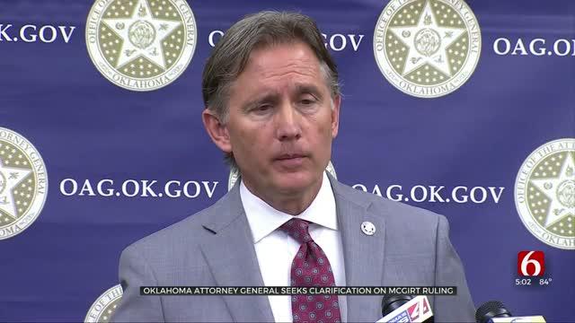Oklahoma Attorney General Seeks Clarification On McGirt Ruling