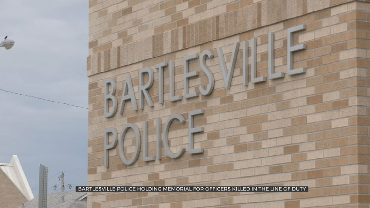 Bartlesville Police Department Holding Memorial Service For For Fallen Officers