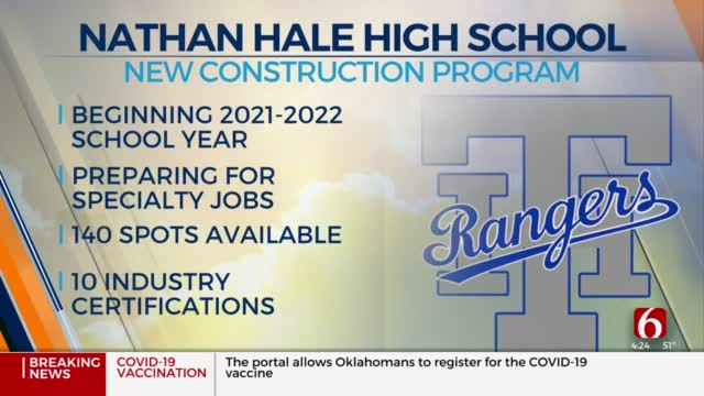 Tulsa High School To Offer New Construction Program For Students