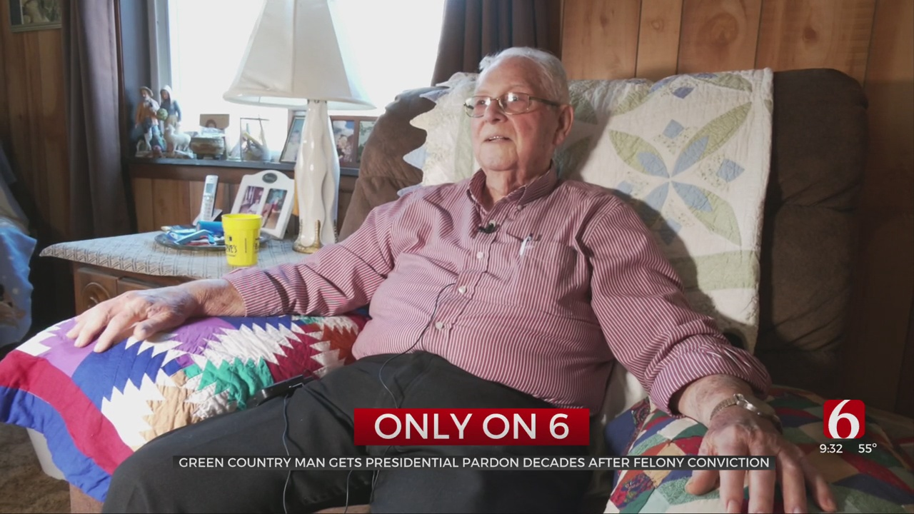 Only On 6: Man Reacts After Receiving Presidential Pardon
