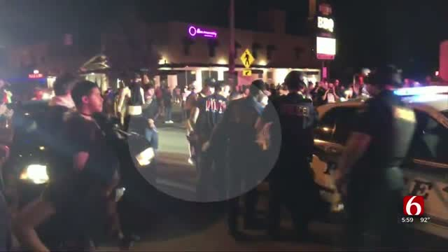 Man Helps Carry Stranger To Medics During Tulsa Protest