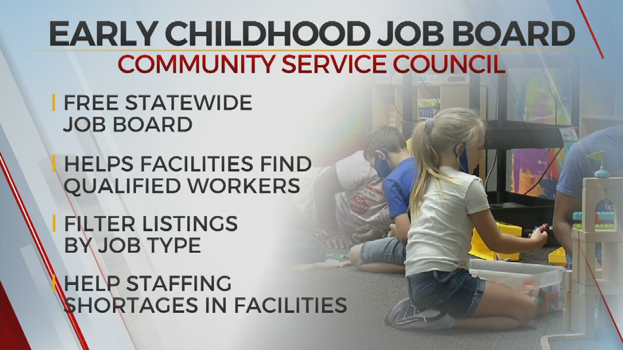 Local Nonprofit Launches Online Job Board To Help Childcare Worker Shortages