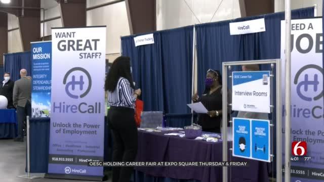 OESC Hosts 2-Day Career Fair At Tulsa Expo Center