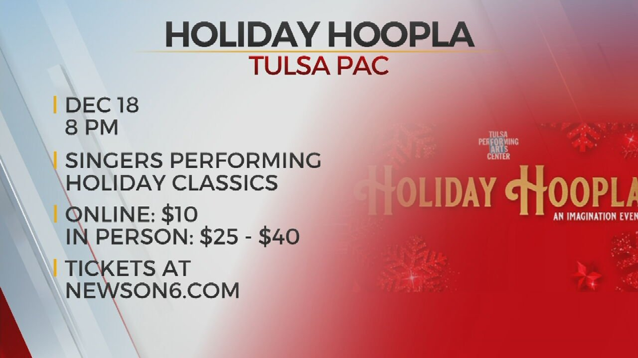 Tulsa PAC Hosts Holiday Hoopla A Virtual, In-person Concert