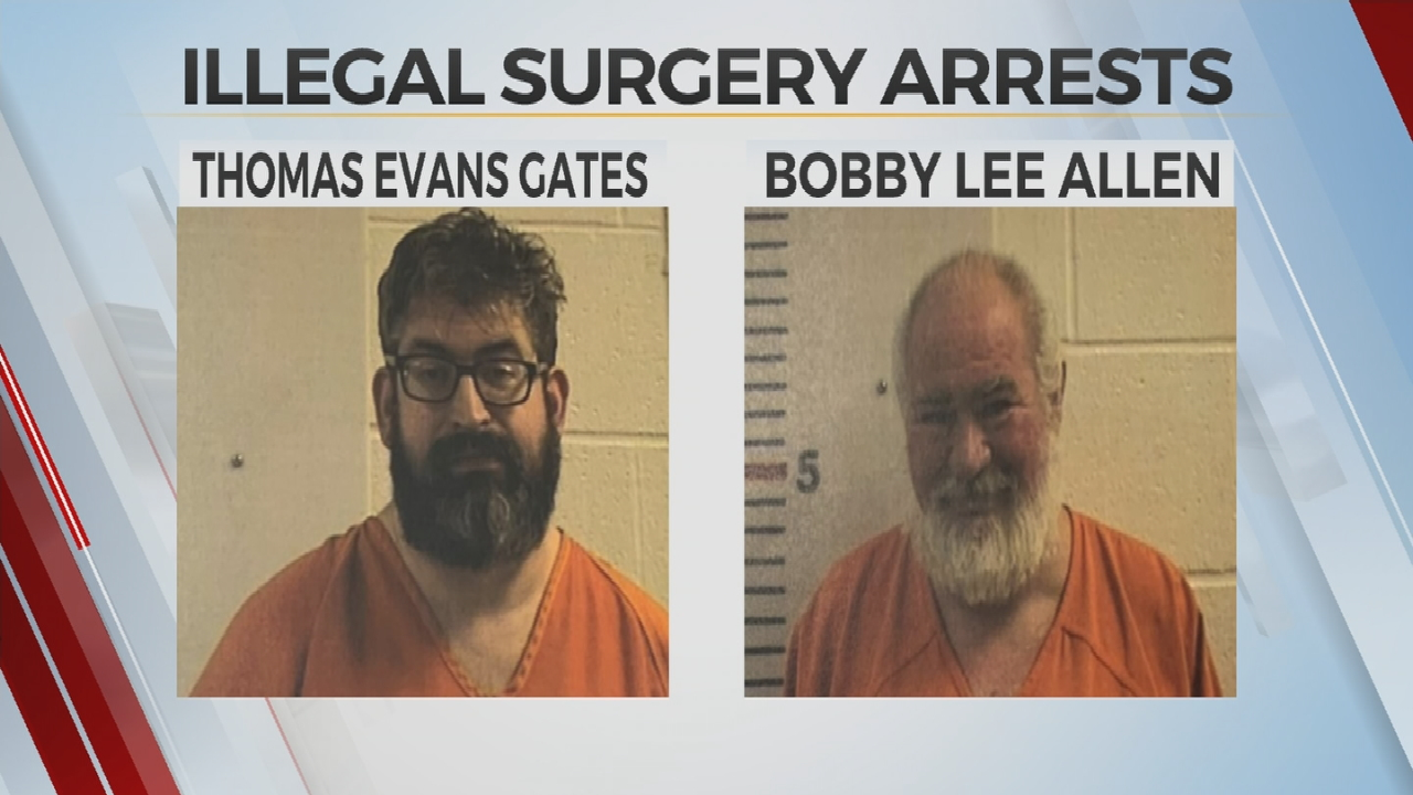 Oklahoma Men Accused Of Performing Illegal Surgery On Man's Private Parts