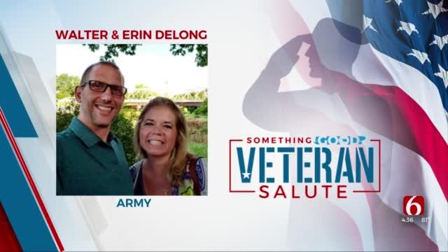 Veteran Salute: Erin & Walter Delong