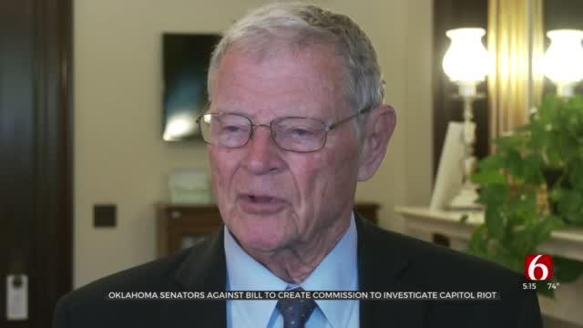 Oklahoma Senators Support Blocking Commission To Investigate Capitol Insurrection
