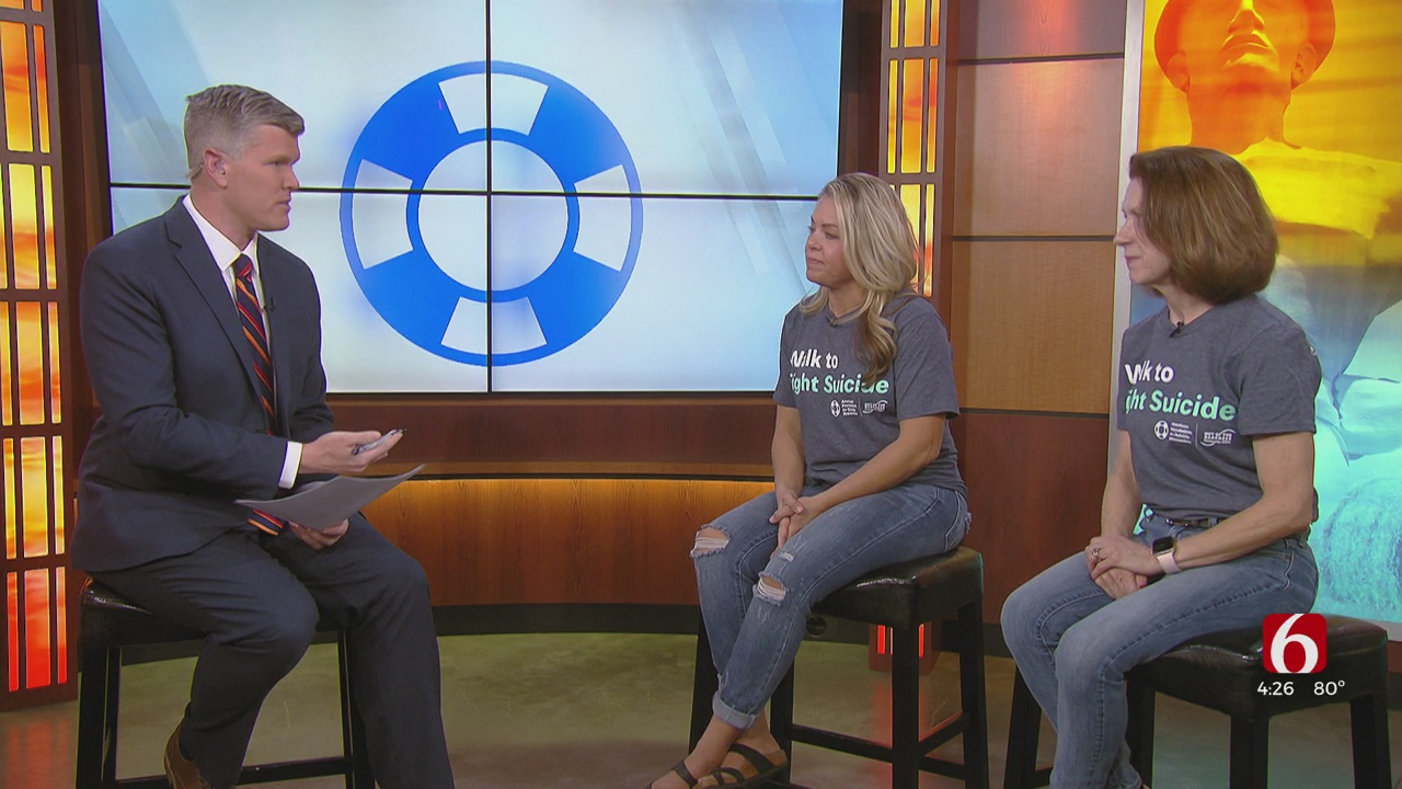 'Out Of The Darkness' Walk To Promotes Suicide Prevention In Jenks