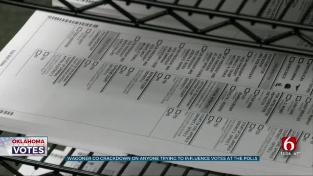 Wagoner County Election Officials Warn Voters Of Illegal 'Electioneering'