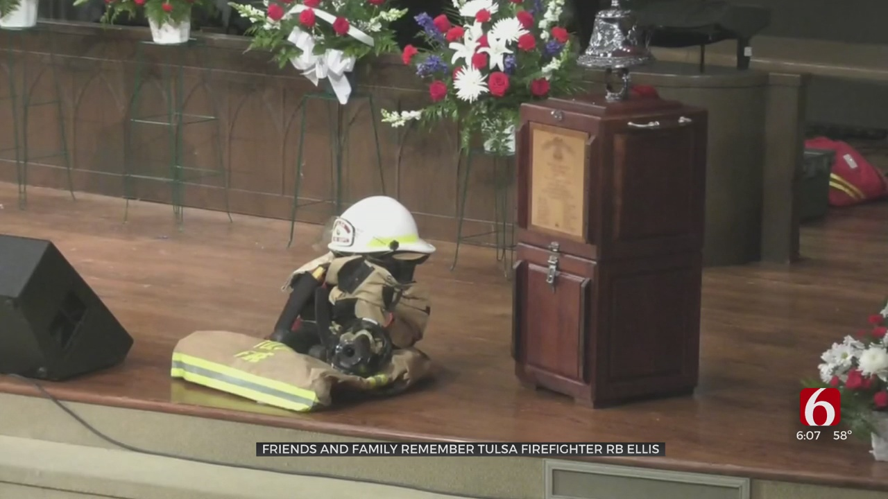 Friends And Family Remember Tulsa Firefighter R.B. Ellis