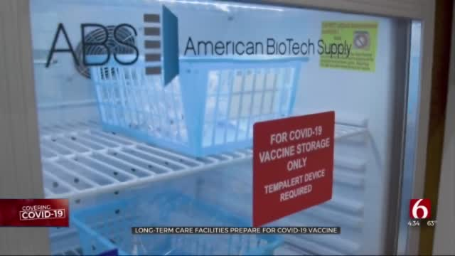 Oklahoma Assisted Living Homes, Long-Term Care Facilities To Start COVID-19 Vaccinations