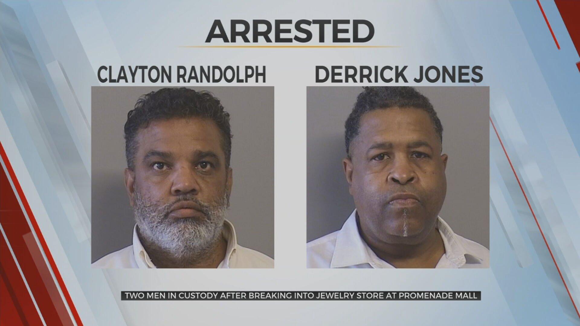 2 In Custody Suspected Of Breaking Into Tulsa Jewelry Store