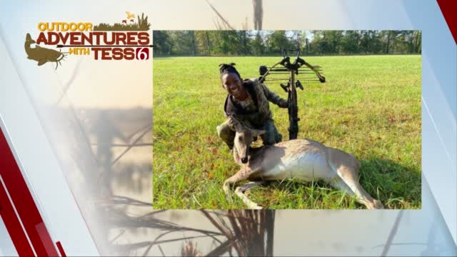 Watch: 11-Year-Old Brooklyn With Her First Buck Of The Seaosn