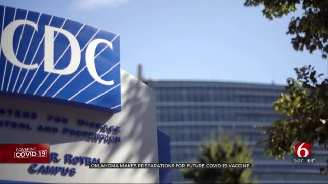 Oklahoma Submits Preparations For Future COVID-19 Vaccine