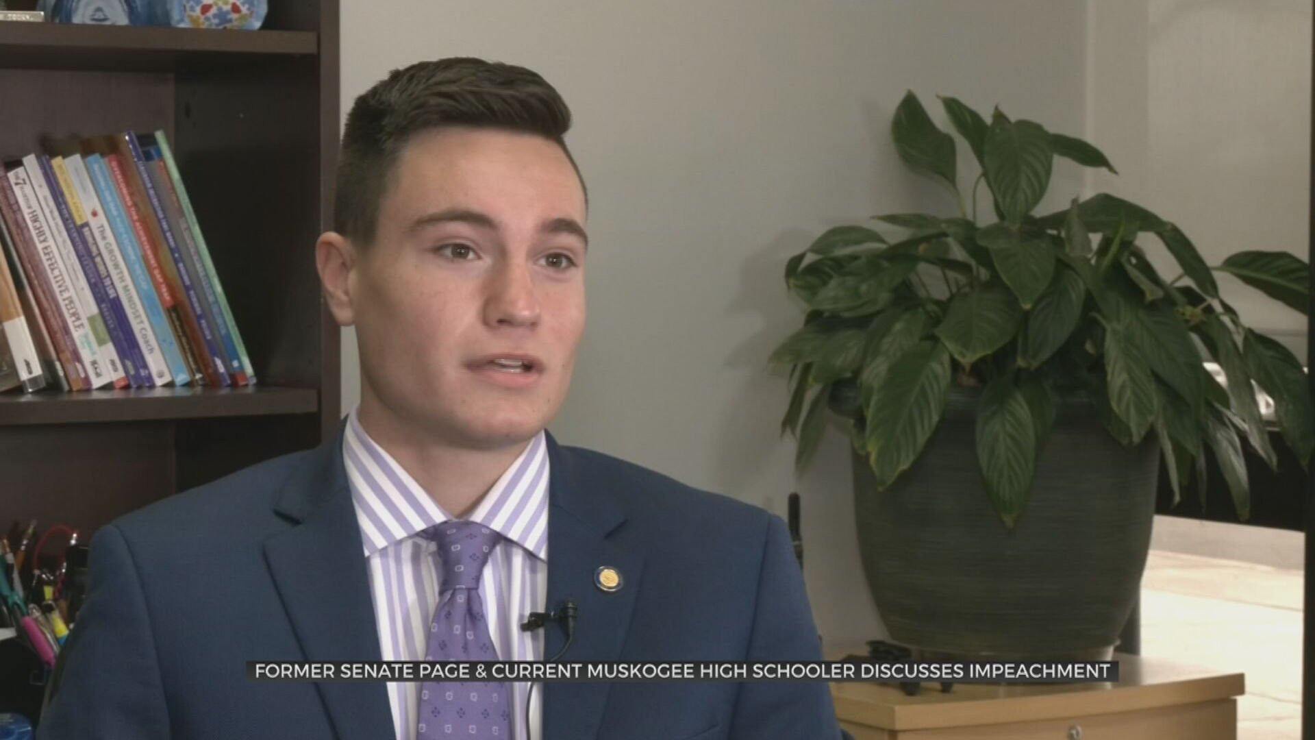 Muskogee High School Student, Former Senate Page Discusses Impeachment Experience