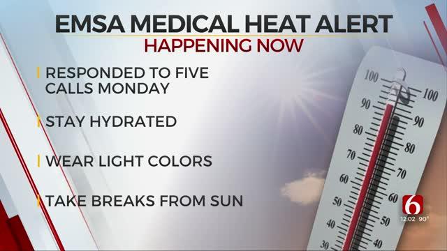 EMSA's Medical Heat Alert Still In Effect