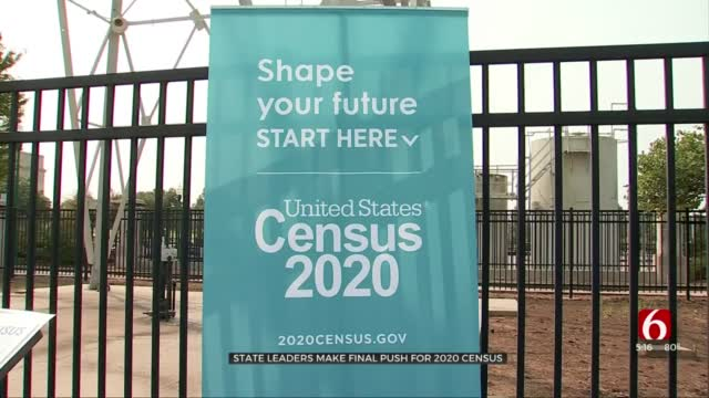 State Leaders Make Final Push For 2020 Census