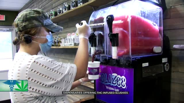 Dispensaries Offering THC-Infused Slushies, State Agency Has Concerns