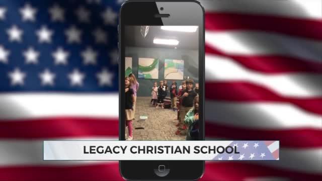 Daily Pledge: Legacy Christian School