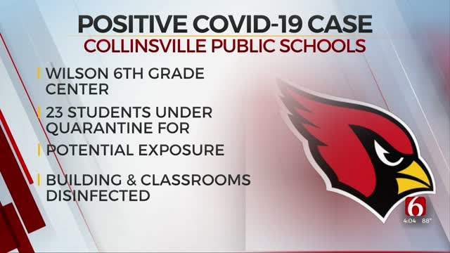 23 Collinsville Students Quarantined After Positive COVID-19 Test