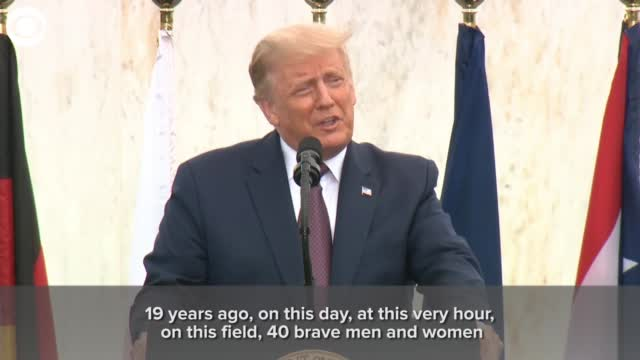 Watch: President Trump Says Flight 93 Heroes Are A Reminder America Always Rises up, Fights Back