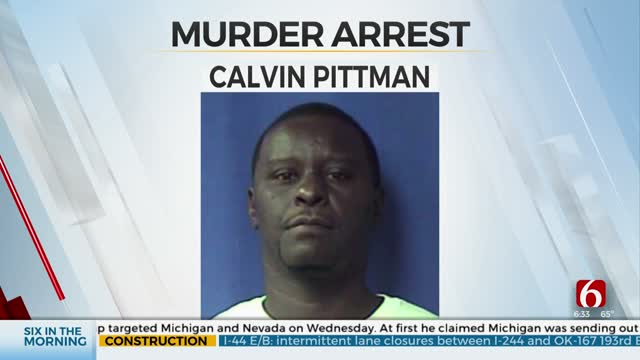 Tulsa Man Arrested, Accused Of Connection To California Murder