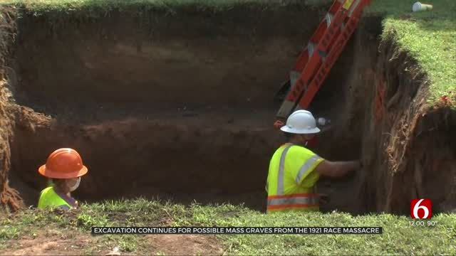 Search For Mass Graves From 1921 Tulsa Race Massacre Continues