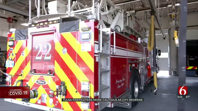 Tulsa Fire Department Has Plan In Place For Possible COVID-19 Cases
