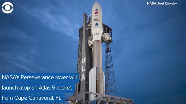Watch: NASA Prepares To Launch Mars Rover