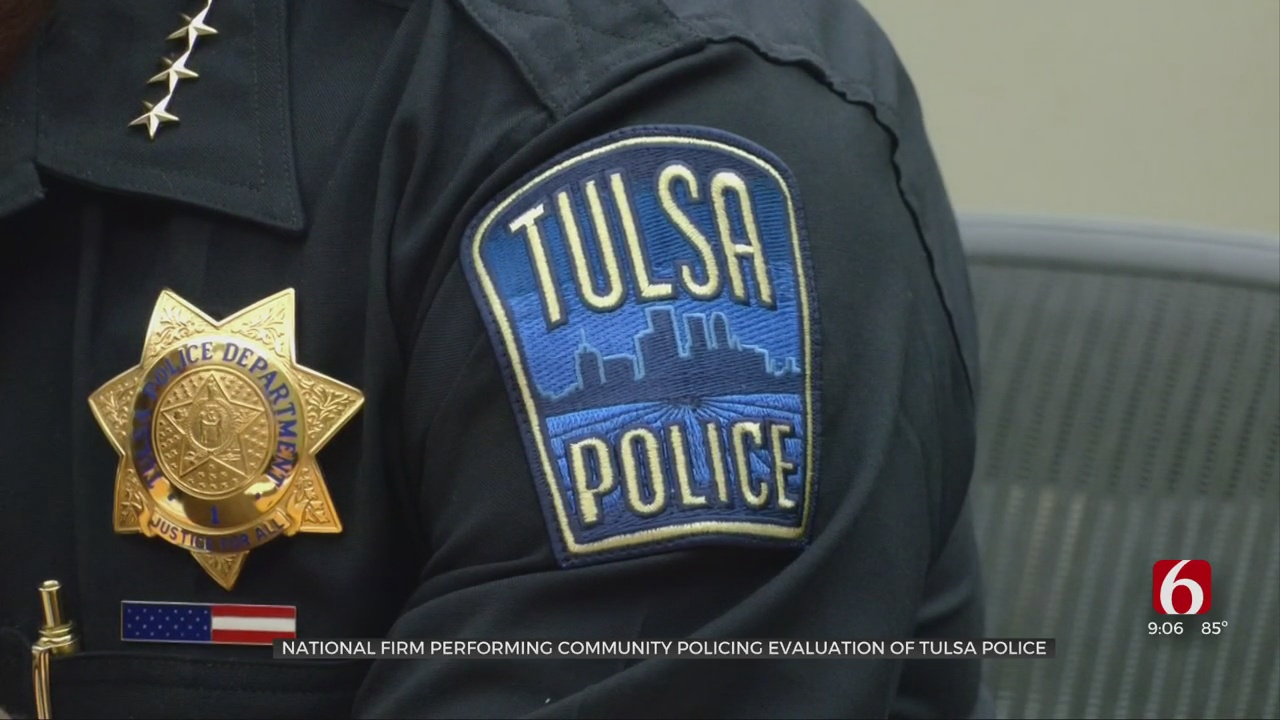 National Firm Evaluating Tulsa Police Community Policing Practices