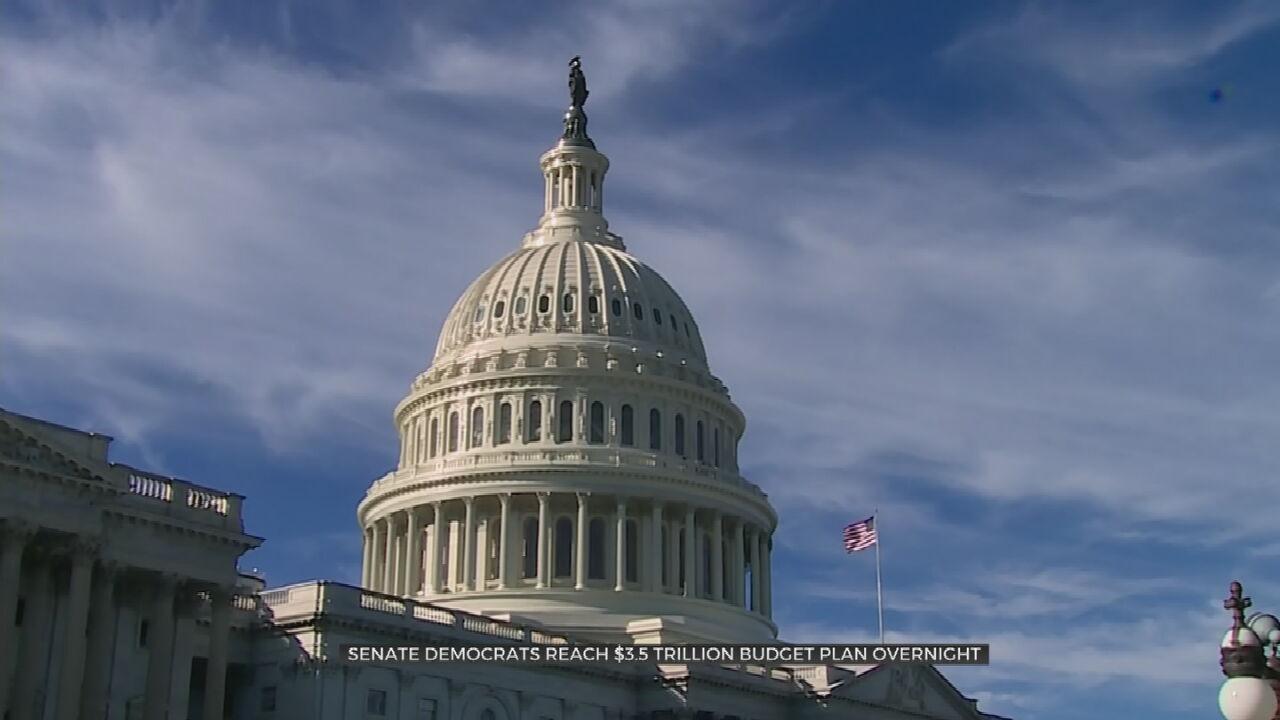 Senate Democrats Announce Deal On $3.5 Trillion Reconciliation Bill