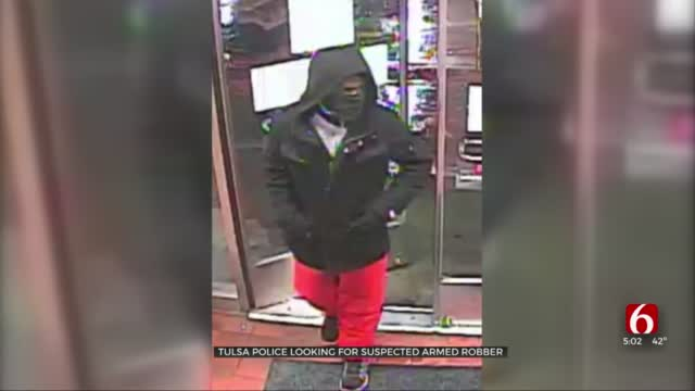 Tulsa Police Searching For Suspect Seen Robbing QuikTrip At Gunpoint