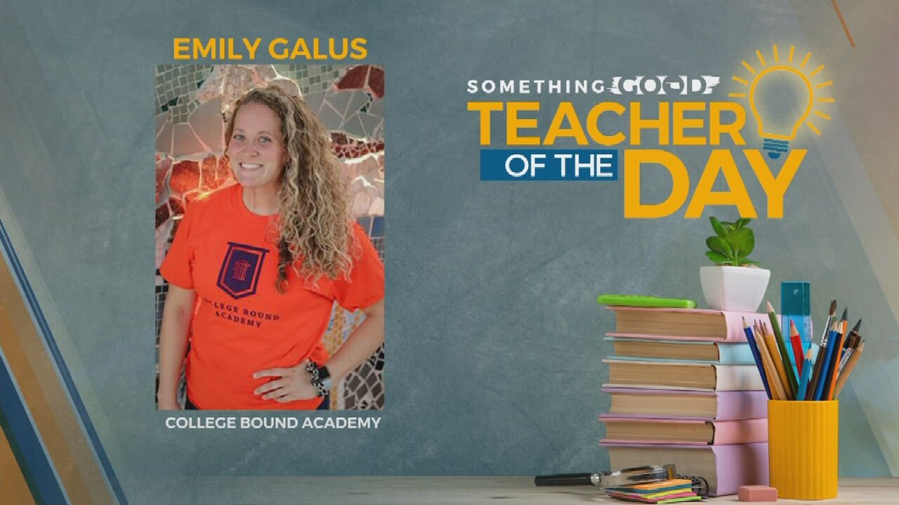 Teacher Of The Day: Emily Galus
