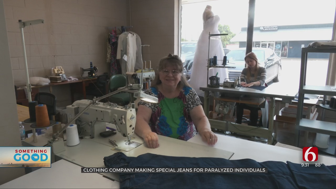 Catoosa Company That Sews Custom Jeans For Individuals In Wheelchairs Struggling After Tough Year
