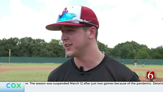 Tulsa-Area Baseball Players Put Together Season To Stay On Their Game