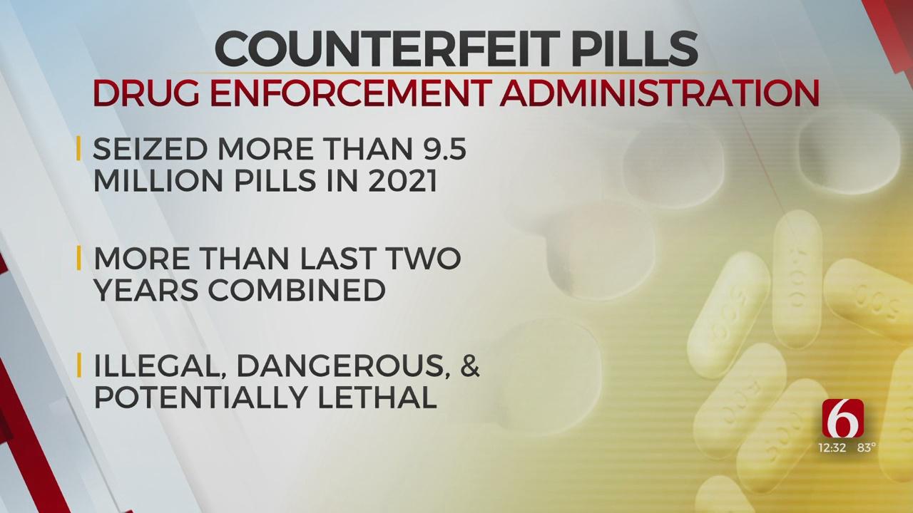 Fake Prescription Pills On The Rise, Drug Enforcement Agency Says