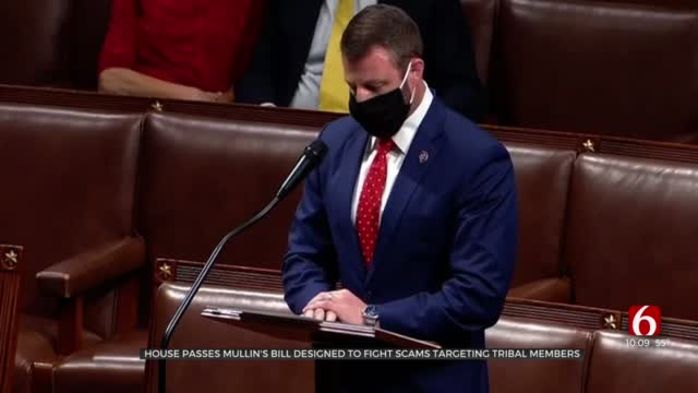 House Passes Rep. Mullin's Bill To Fight Scams Targeting Tribal Members