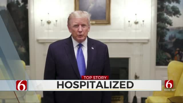President Heads To Walter Reed Medical Center Following COVID-19 Diagnosis
