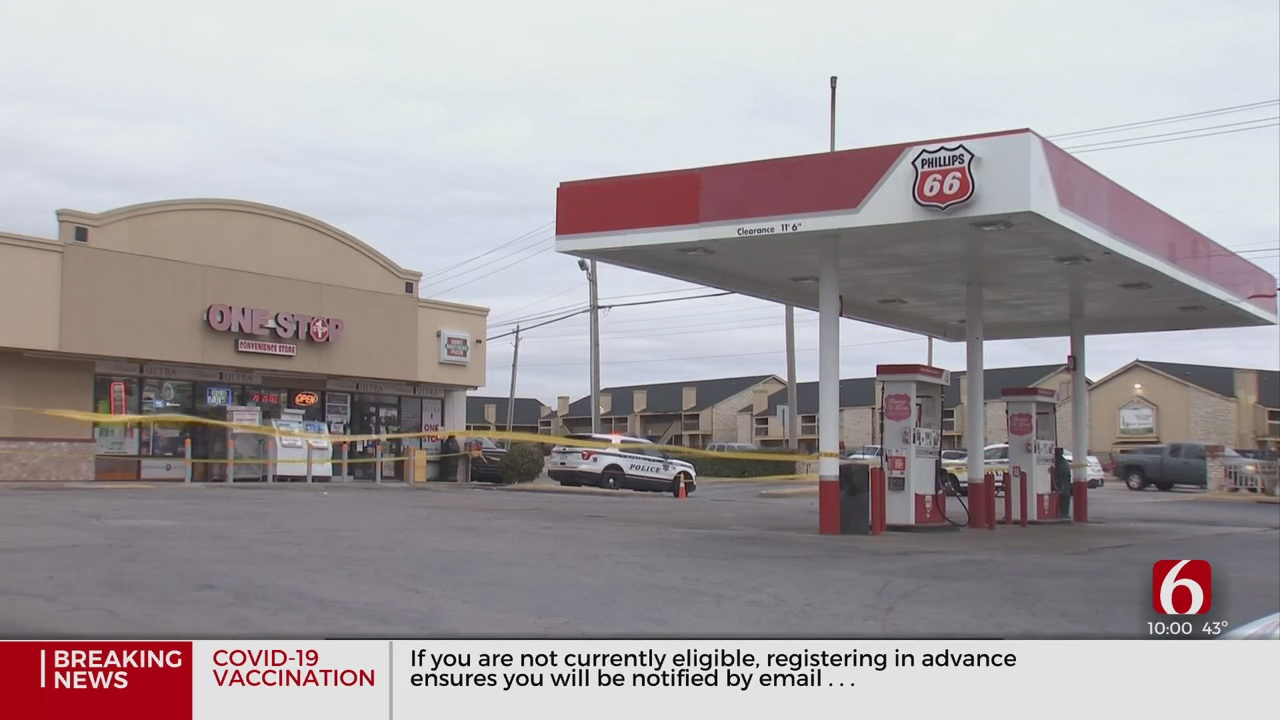 Search For Suspect Continues After Shooting At Convenience Store