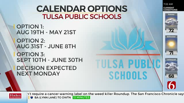 TPS Board Offering 3 Different Fall Calendar Options, Expected To Vote Next Week
