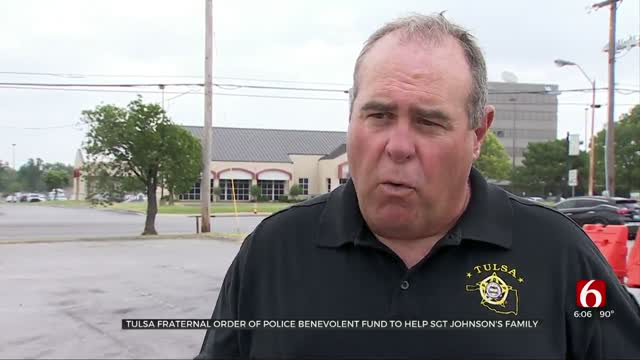 Tulsa Fraternal Order Of Police Benevolent Fund To Help Sgt. Johnson's Family